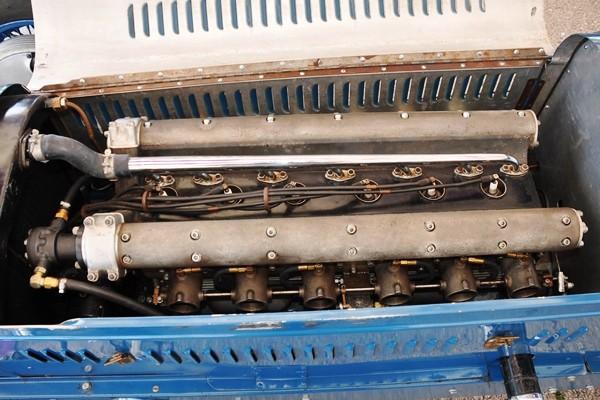 1936 Thorne Sparks Big Six Dana Mecum engine