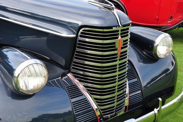 1938 Oldsmobile L Series Convertible Coupe Lois D. Wolfe grille