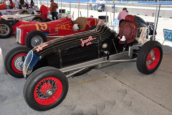 1946 Jewell Offy SPecial paddock Herb Lederer