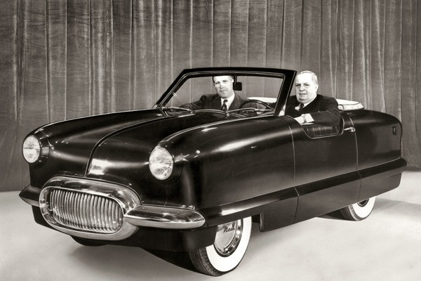 1950 Nash NXI Prototype with George Romney and George Mason