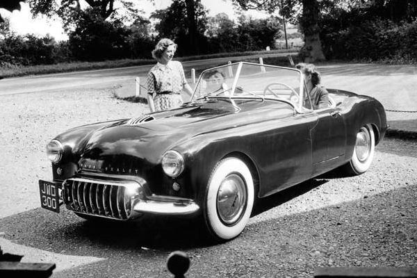 1951 Nash Healey prototype