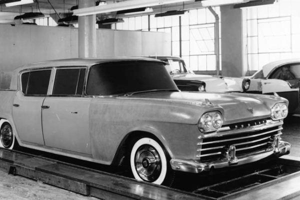 1958 Hudson full-scale clay