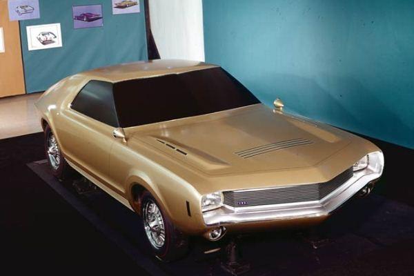 1965 AMC AMX full-size clay