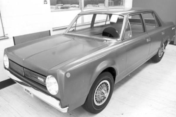 1968 AMC Rambler American Brooks Stevens proposal