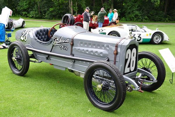 1916 Packard Twin Six racer RF Gilmore Car Museum