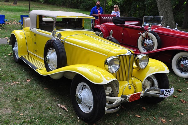1929 Cord L29 Cabriolet Jack and Luci Laughlin