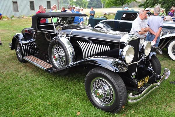 1929 Duesenberg J Murphy Convertible Coupe Greg Orzanian
