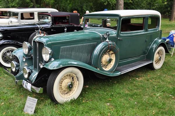 1932 Auburn 12-160A Brougham Sid and Belva Meyer