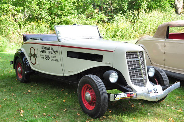 1936 Auburn 852 Cabriolet racer Sheldon Rier