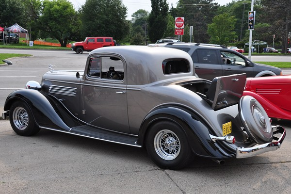 1936 Buick Coupe left rear
