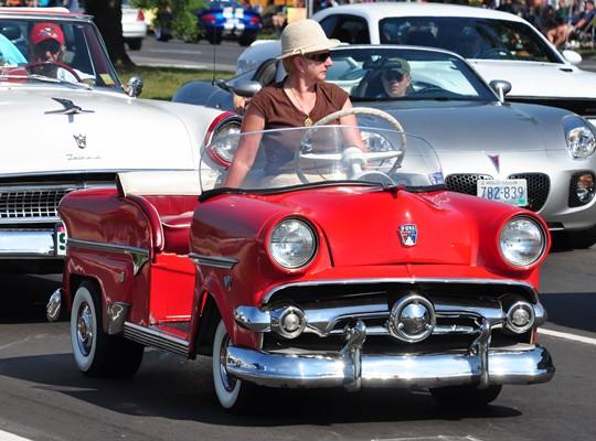 1954 Ford golf car
