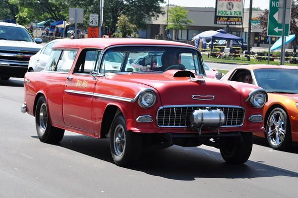 1955 Chevrolet Nomad gasser