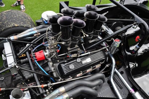 1974 Shadow DN4 Can-Am racer engine Jim Bartel