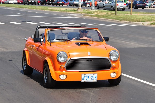 Morris Mini chopped convertible