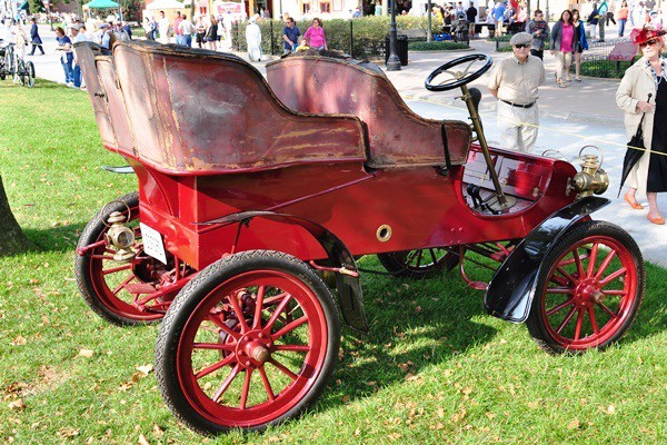 1903 Ford Model A Rick Lindner rear tonneau