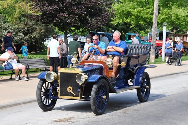 1907 Ford Model K on street