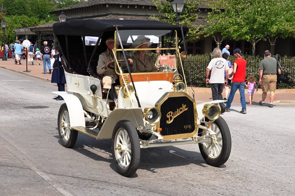 1908 Buick F Leo Warren