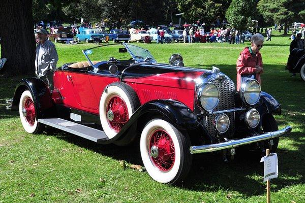 1929 Auburn Boattail Speedster Terry Ernest