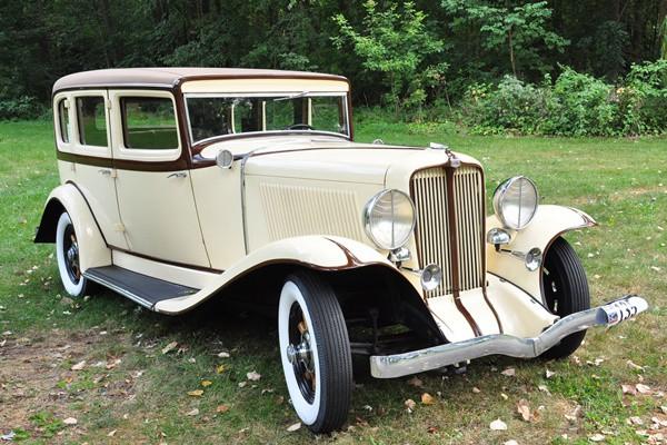1931 Auburn 8-98A Sedan Paul Lund