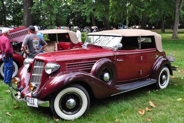 1935 Auburn 851 Phaeton Ray and Thomas Parker