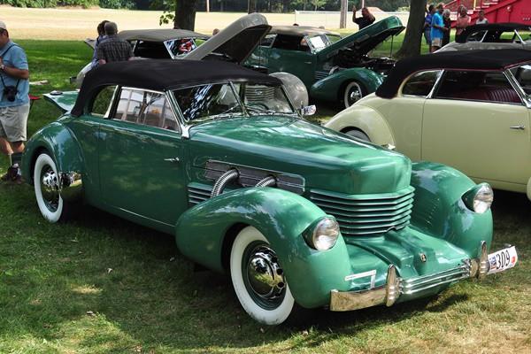 1937 Cord 812 Phaeton Larry Hurn