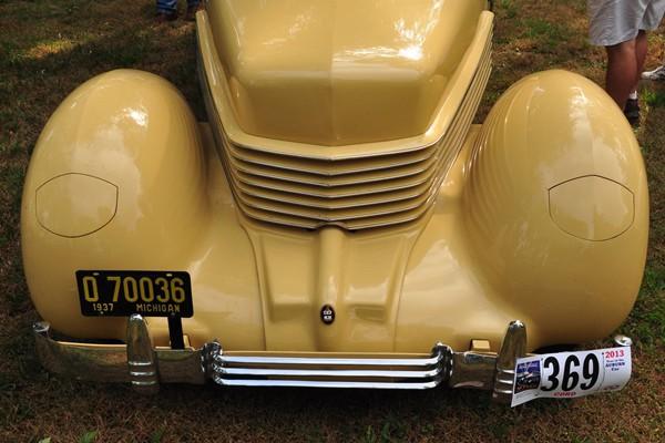 1937 Cord 812 Phaeton front Carl Stebbins
