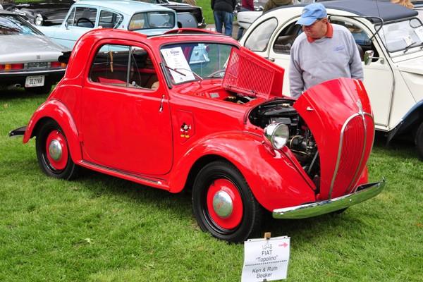 1948 Fiat Topolino Ken and Ruth Becker