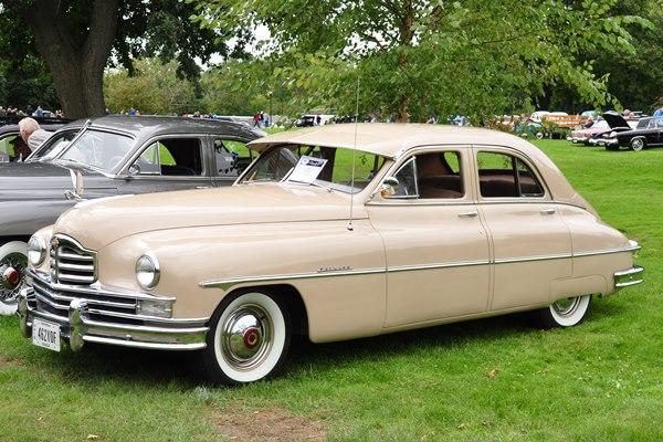 1949 Packard Super 8 Touring Sedan Ronald Gerber