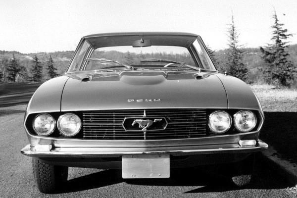 1965 Mustang Bertone front