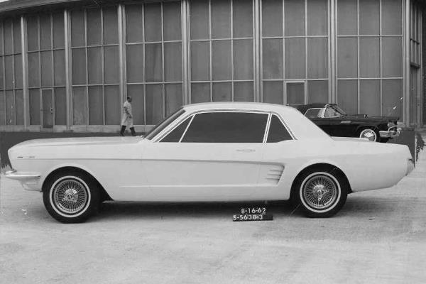 1965 Mustang clay Aug 16 1962