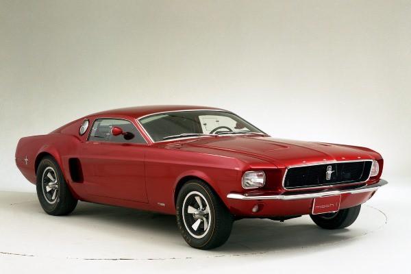 1966 Mustang Mach 1 concept
