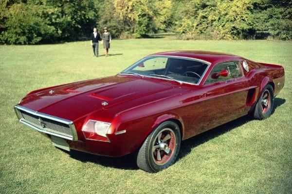 1968 Mustang Mach 1 concept