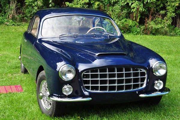 Buck Mook 1954 Ford Comete Monte Carlo Coupe front