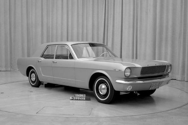 Ford Mustang four-door Jan 4 1963