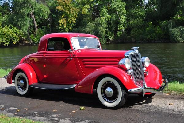 Glenn Coffey 1935 Hupmobile 517W Coupe