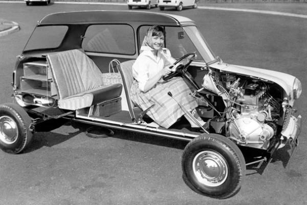 1959 Austin Mini Cutaway