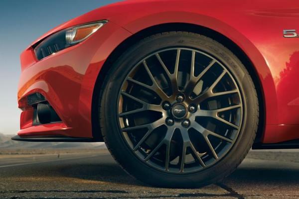 2015 Mustang left front wheel