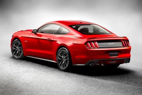 2015 Mustang left rear