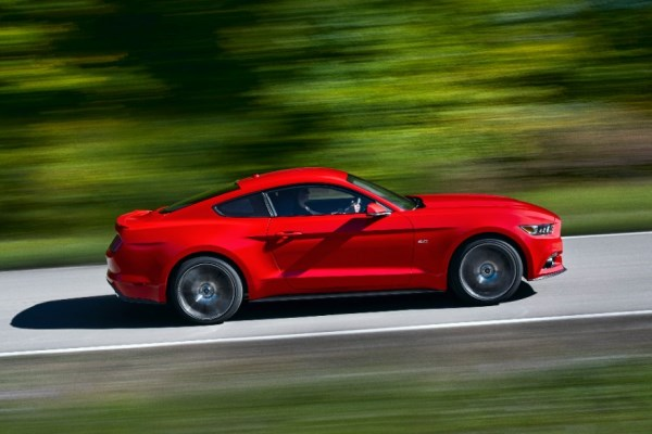 2015 Mustang motion