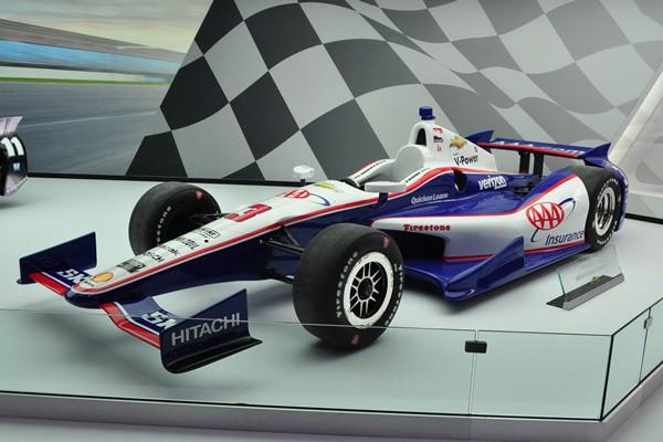2013 Dallara Chevrolet Team Penske livery