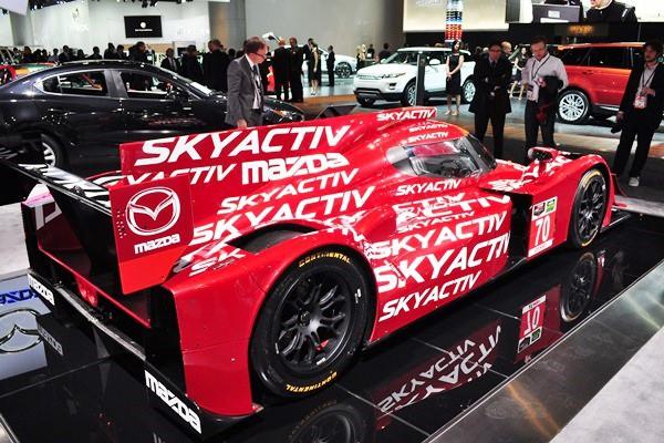 2014 Mazda Skyactiv prototype racer