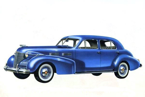 1940 Cadillac 62 Tourng Sedan