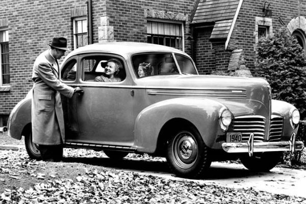 1940 Hudson Utility Coupe
