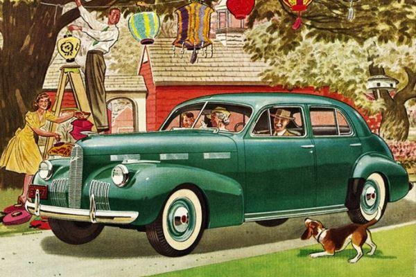 1940 LaSalle Special Sedan