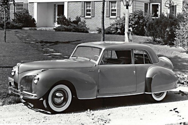 1940 Lincoln Continental Coupe