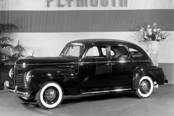 1940 Plymouth four door sedan