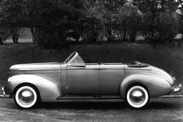 1940 Studebaker President Convertible Sedan by Derham