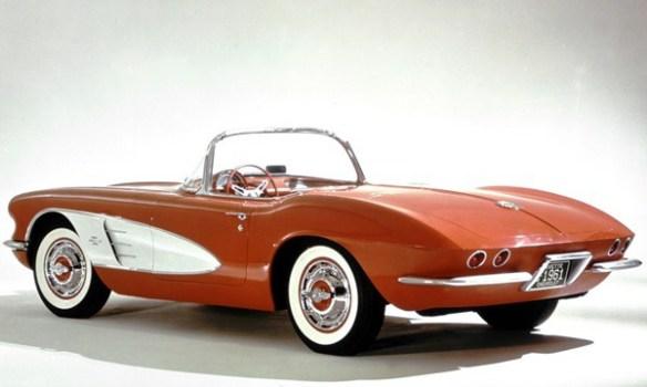 1961 Corvette rear