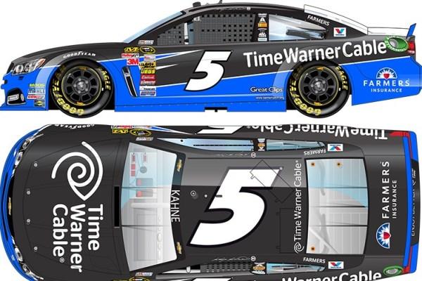 Kasey Kahne 5 Time Warner Chevrolet