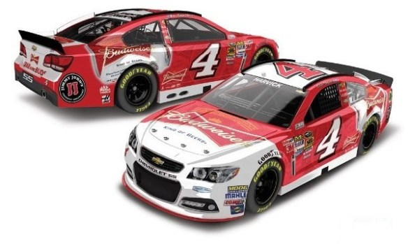 Kevin Harvick Budweiser Chevrolet